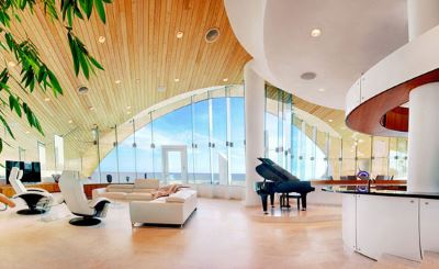 Interior of Hilton Residence in Seacrest FL